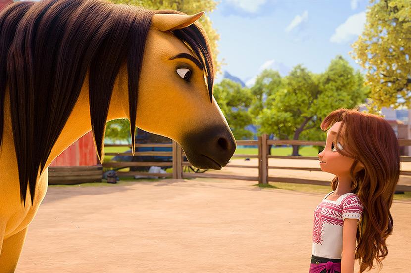 Animirani 'Divlji Spirit' u kaubojskom selu!